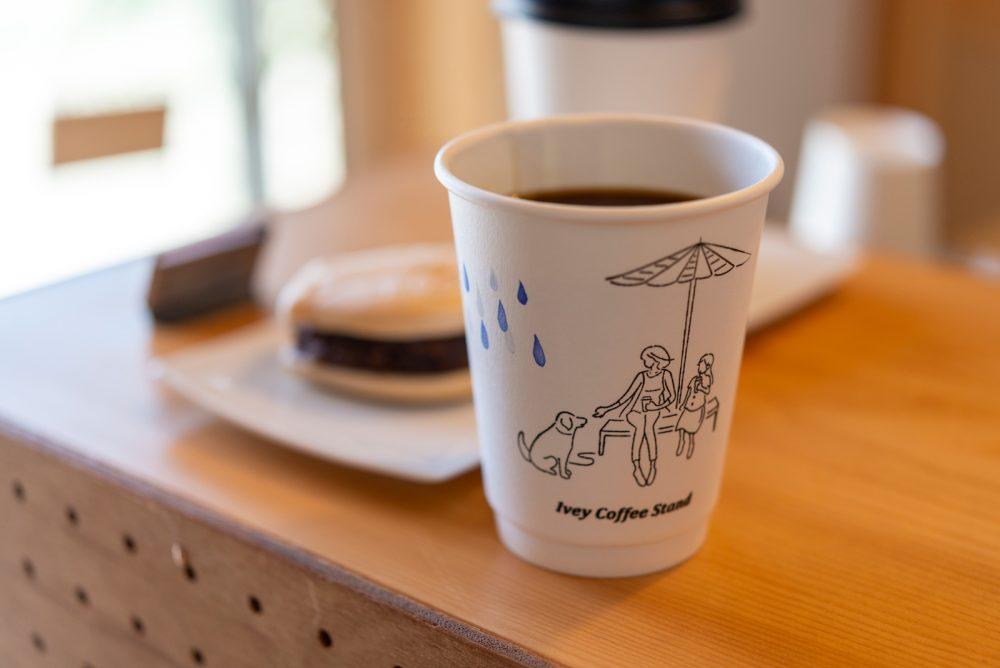 コーヒーとあんこは相性抜群