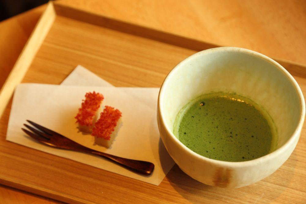 お米にまつわる専門店でいただくお膳と日本茶