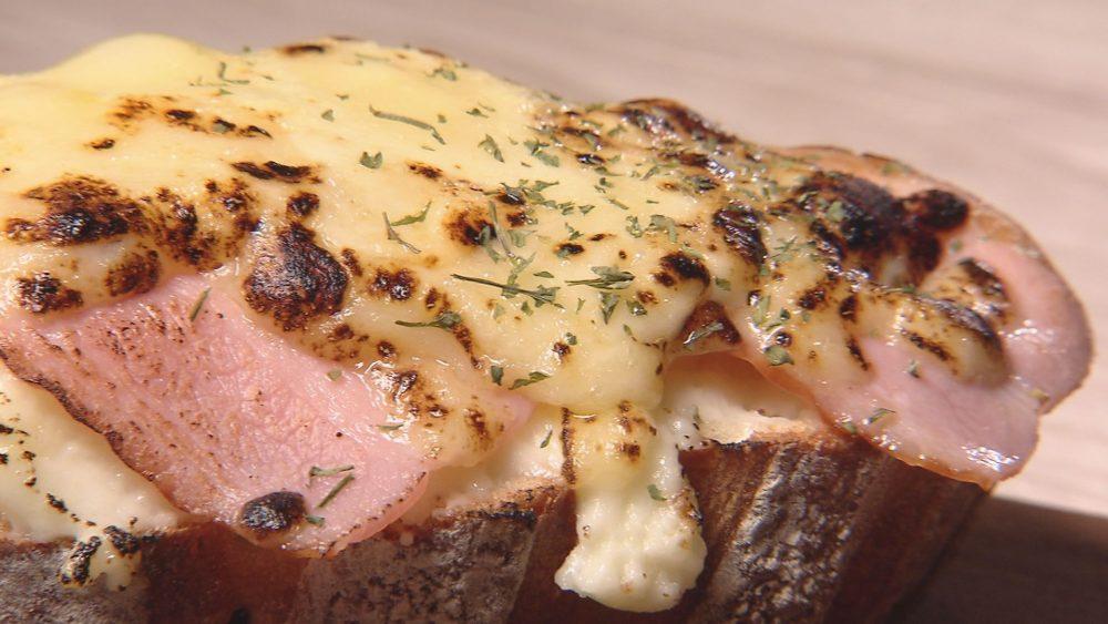 ベーコンにとろとろチーズは魅力的
