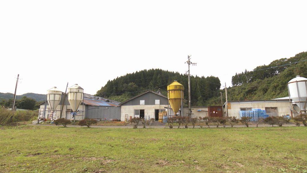田子町の養鶏場