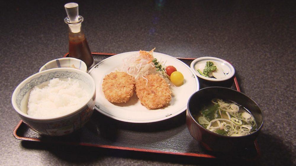 特製コロッケ定食